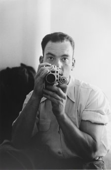 Self portrait, Cyprus, 1953 by David Potts