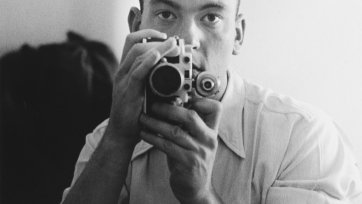 Self portrait, Cyprus, 1953 David Potts