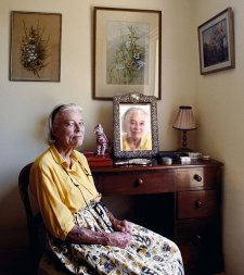 Portrait of Ninette Dutton, 2004 by Bette Mifsud