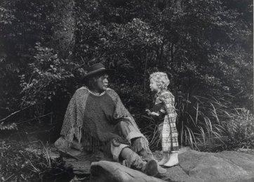 Essie Coffey (Bush Queen) and Orlando Gemes, 1978 (printed 2003) by Juno Gemes