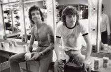 Bon Scott & Angus Young, Atlanta, Georgia, 1978 (printed 2010) by Rennie Ellis