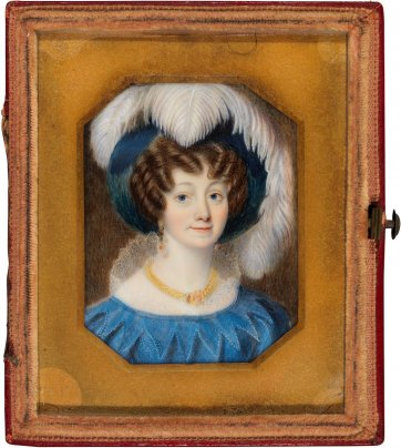 Fanny Jane Marlay, c.1841 by an unknown artist