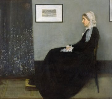 Arrangement in Grey and Black No.1, Portrait of the Artist's Mother