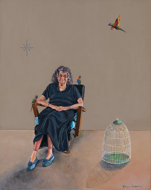 Mrs Violet Frisby, 2011 by Robyn Sweaney