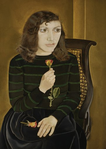Girl with roses, 1947-48