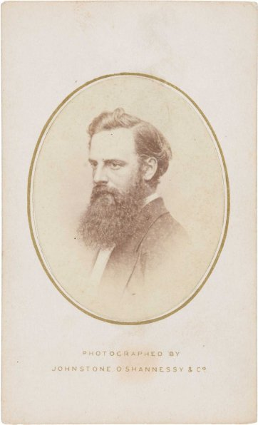 Nicholas Chevalier, c. 1867 by Johnstone O'Shannessy & Co