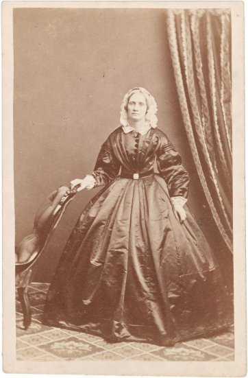 Margaret Robertson, c.1863 by Batchelder & O'Neill