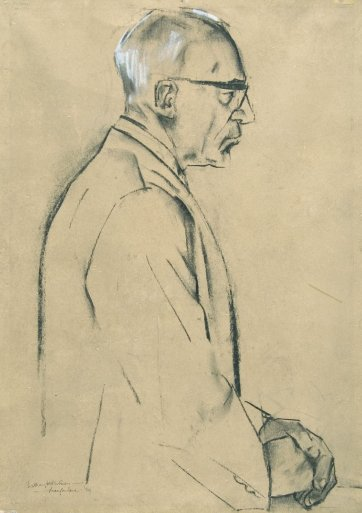 Sir John Eccles, 1959 by Pam MacFarlane
