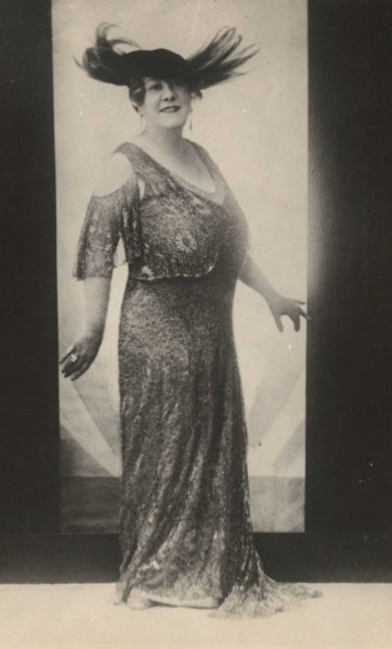 Florrie Forde, c.1915 by an unknown artist
