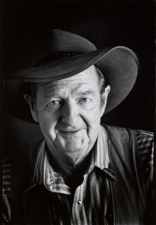 Slim Dusty at Carlton Hill Station, WA, 1993 by John Elliott
