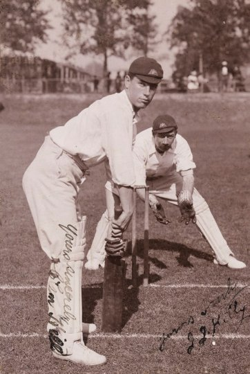 Clem Hill  (member of the 1896 Australian Cricket Team) H Parker Rolfe