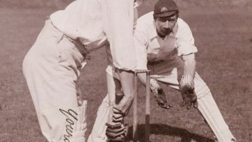 Clem Hill  (member of the 1896 Australian Cricket Team) by H Parker Rolfe