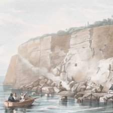 Captain Cook's Tablet at Cape Solander, Botany Bay, New South Wales, 1839 G E. Madeley after John Lhotsky
