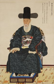 Portrait of Kang Sehwang, 1783 by Yi Myeonggi