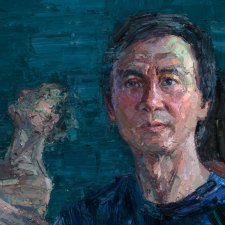 Portrait of Li Cunxin, 2017–2018 (detail) by Jun Chen