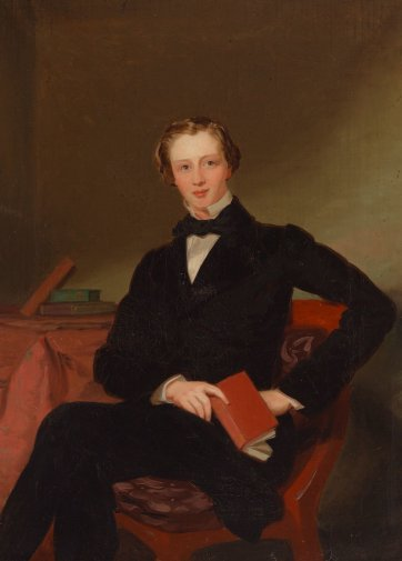 William Robertson junior, c.1857 by Conway Hart
