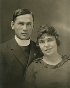 Rev. Victor B. Walls and Mrs. Walls, Trinidad, B.W.I., c.1930