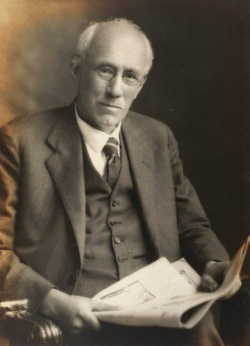 Professor John Le Gay Brereton, c.1930 by an unknown artist