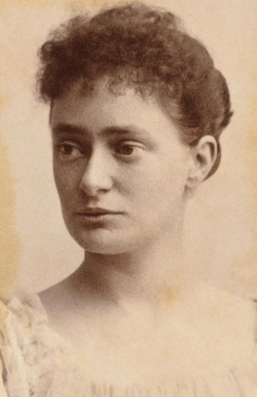 Jane Windeyer, 1885 by H Brusewitz