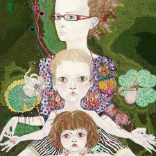 You are what is most beautiful about me: a self portrait with Kel and Arella, 2007 Del Kathryn Barton