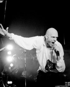 Peter Garrett, Midnight Oil, 1986 Bob King