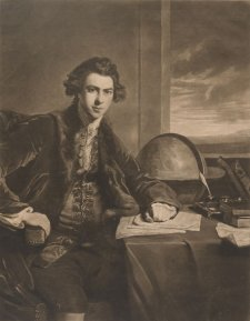 Joseph Banks, 1774 Sir Joshua Reynolds, William Dickinson