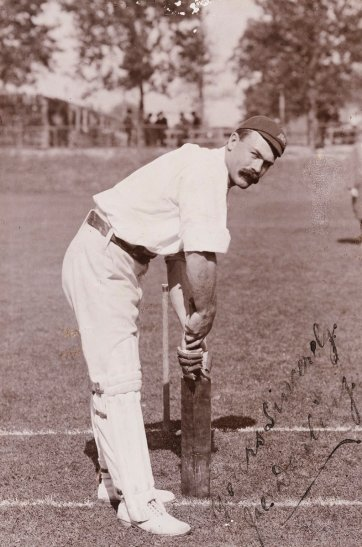 Joe Darling (Joseph Darling, member of the 1896 Australian Cricket Team) H Parker Rolfe
