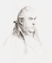Sir Joseph Banks, 1811 by William Daniell after George Dance
