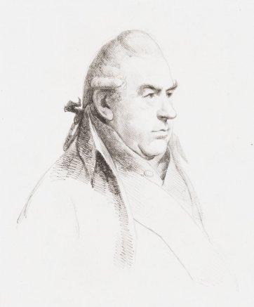 Sir Joseph Banks, 1811 William Daniell after George Dance