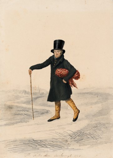 Tailor's man, Scarborough, 1825 by John Dempsey