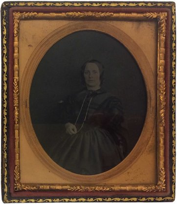 Maria Jane Dowling, c.1862 an unknown artist