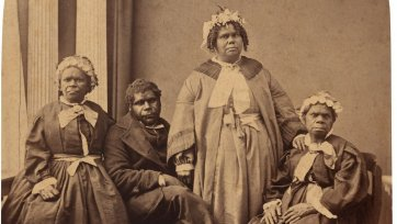 Aborigines, the last of the race, Tasmania, c. 1866 Henry Frith
