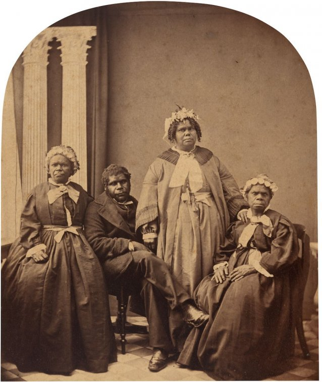 Aborigines, the last of the race, Tasmania