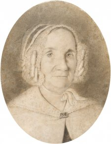 Elizabeth Rouse (copy of drawing by William Griffith), c.1847 by an unknown artist, William Griffith