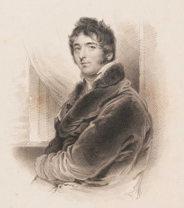William Lamb, Baron Melbourne, 1832 by Sir Thomas Lawrence, Samuel Freeman, Fisher, Son & Co London