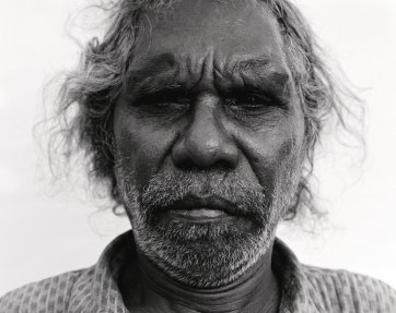 Wik Elder, Joe, from the Returning To Places That Name Us series, 2000 Ricky Maynard
