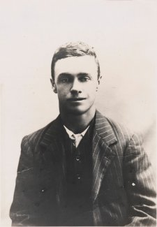 Willie Edward Harney, aged 18, c. 1913 an unknown artist