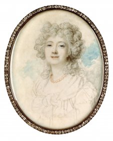 Madame du Barry, 1791 by Richard Cosway