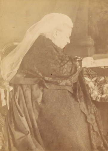 The latest portrait of Her Majesty Queen Victoria, c. 1896 John Thomson
