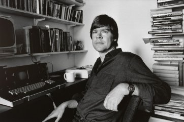 Peter Corris, 1982 (printed 2011) by Lorrie Graham