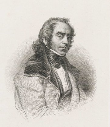 Jacques Arago, c. 1830s by Nicolas Maurin, Alexandre Sixdeniers