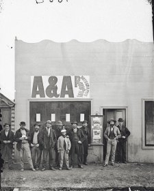 Studio of the American & Australasian Photographic Co., Hill End, 1872