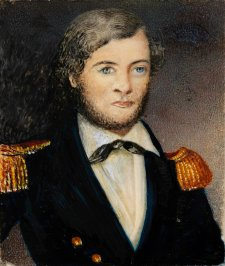 Captain John Lort Stokes, c.1841 by an unknown artist