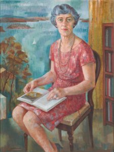 Portrait of Marjorie Cotton, 1969 Jean Isherwood