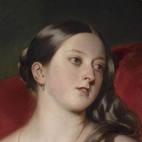Queen Victoria (1819-1901), Signed and dated 1843 by Franz Xaver Winterhalter