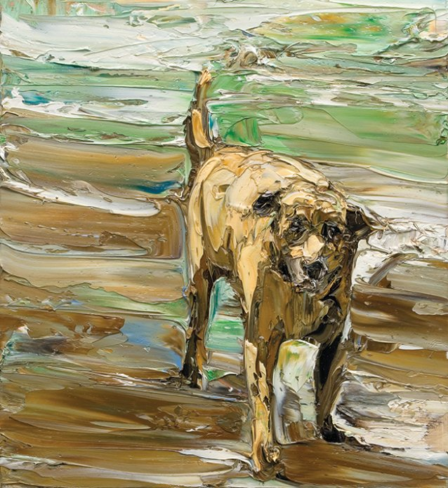 Beach life (dog), 2006 by Nicholas Harding
