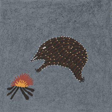 Baggabal (echidna), 2018 by Shirley Purdie