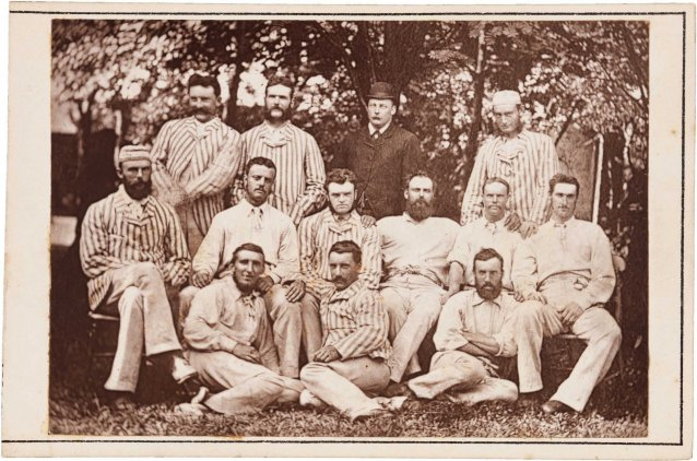The first Australian first-class cricket team to tour England and North America, 1878 A. & G. Taylor