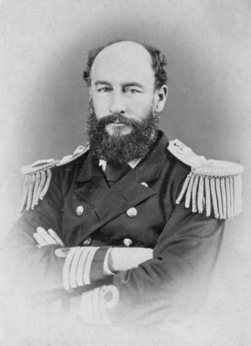 Admiral Sir George Strong Nares KCB (1831-1915), Arctic explorer and commander of 'Challenger'