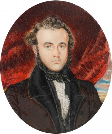 Richard Windeyer, 1830s by an unknown artist